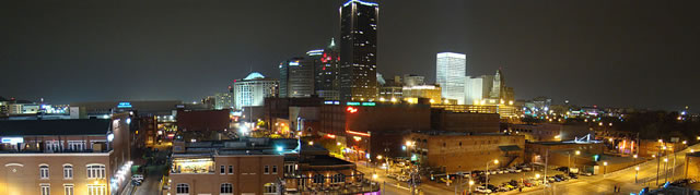 Oklahoma City Skyline - Image Source: https://commons.wikimedia.org/wiki/File:Oklahoma_City_Skyline_From_Bricktown_Parking_Garage.jpg